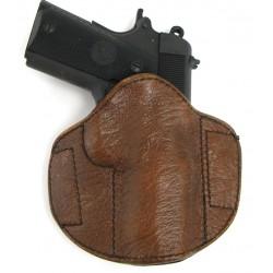 Custom Badger Skin holster....