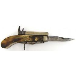 Unwin & Rogers Knife pistol...