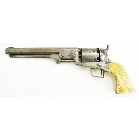 Colt 1851 Navy Squareback Model Revolver (C11539)