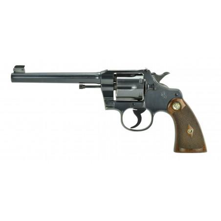 Colt Officer's Model .38 Special (C15652)