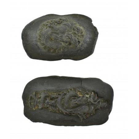 Very Unusual Menuki Molds of Dragons (MGJ1375)