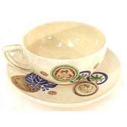 Satsuma Cup & Saucer  (OR10)