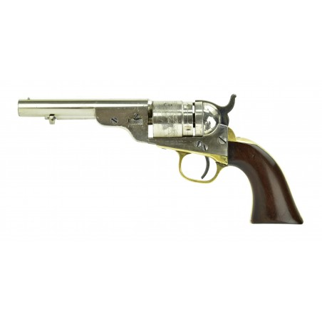 Colt Round Barrel Pocket Navy Conversion with Ejector (C15545)