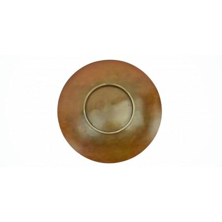 Japanese Meiji Period Shallow Copper Dish (J283)