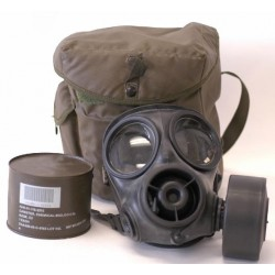 U.S. Issue Gas Mask  (MM232)