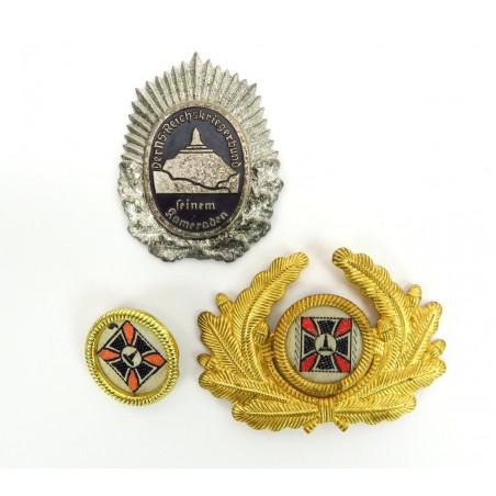 Nazi Veteran's Cockade and Cap Device (MM1115)