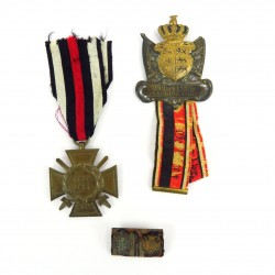 German WWI War Cross and...