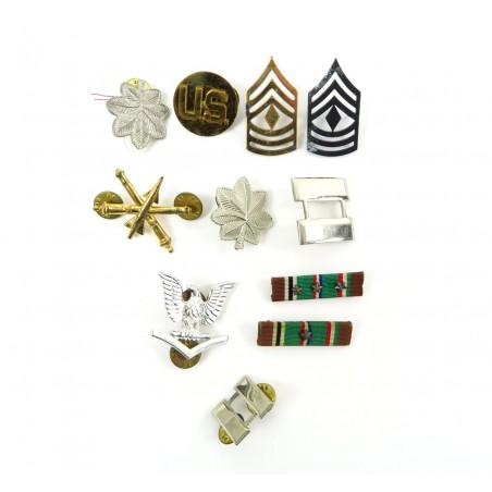 Lot of U.S. Military Rank Insignia (MM1081)