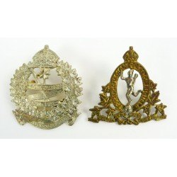Two Canadian Cap Badges...