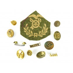Lot of U.S. Army Cloth and...