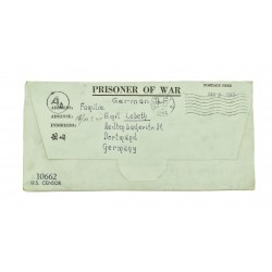 German WWII POW Letter from...