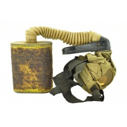 U.S. WWI Gas Mask Bag with...
