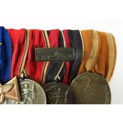 German WWII Six Medal Bar...