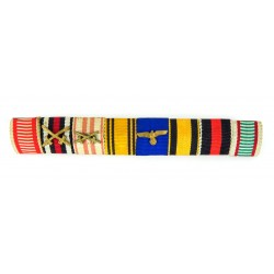 WWI / WWII 8 Place Ribbon...