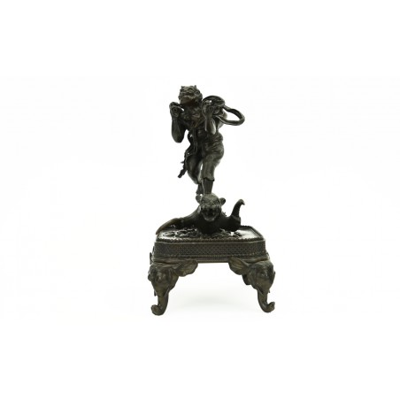 Bronze Statue of Fujin, God of Winds (J431)