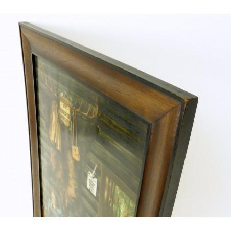 I.W. Harper Vitrolite on Milk Glass (ART102)