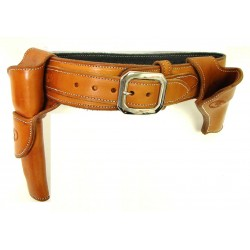 "Belt 38"" for .38 caliber,..."
