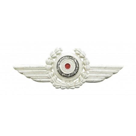 Deutscher-Luftsportverband (DLV) Officers Visor Cap Insignia (MM1233)