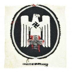 German WWII Embroidered Red...