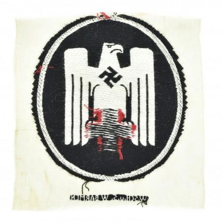 German WWII Embroidered Red Cross Uniform Emblem (MM1226)