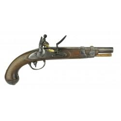 U.S. 1816 Flintlock Pistol...