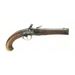 German Flintlock Pistol...