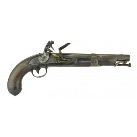 U.S. Model 1826 Flintlock Navy Pistol by W.L. Evans (AH5613)