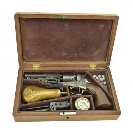Colt Factory Engraved 1849 Pocket Model Revolver (C14842)