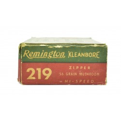 Remington Kleanbore .219...