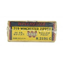 Winchester .219 Zipper 56...