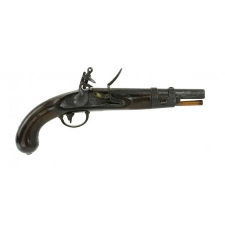 U.S. Model 1816 Flintlock Pistol by S. North (AH4845)