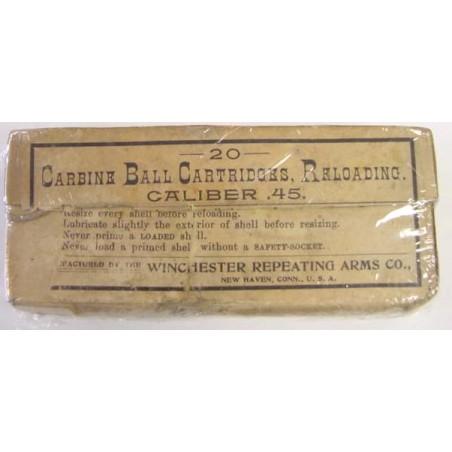 45 Carbine Ball Cartridges, Reloading (BP424)