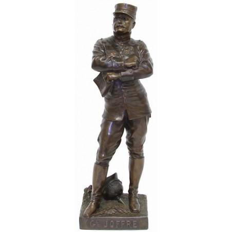 Gen. Joseph Joffre, Marshal  Bronze Statue (CUR267)
