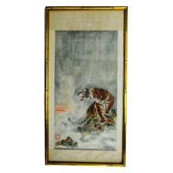 Chinese Tiger Painting on...