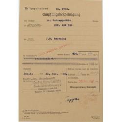 Nazi Marked Patent...