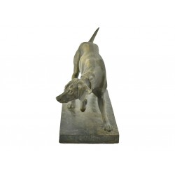 A Bronze Pointer/Hunting...