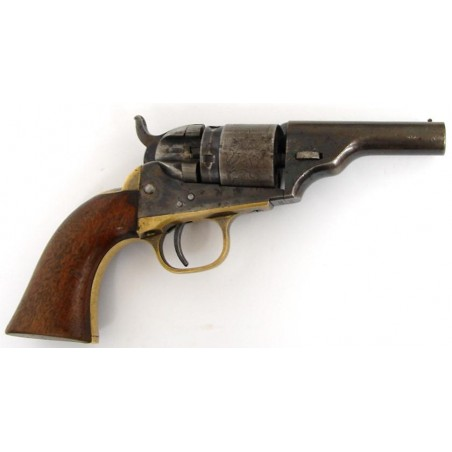 Colt 1862 Pocket Navy conversion .38 caliber revolver (C4841)