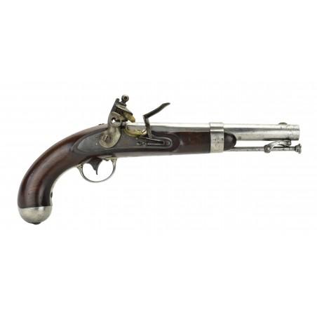 U.S. Model 1836 Flintlock Pistol by Johnson (AH5656)