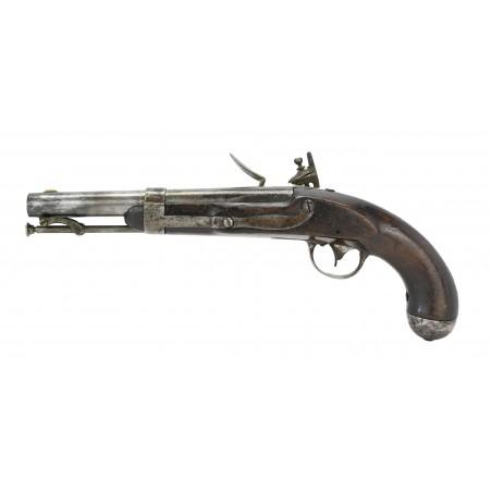 U.S. Model 1836 Flintlock Pistol by Johnson (AH5690)