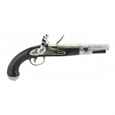 Rare US Model 1813 Flintlock Pistol by Simeon North (AH5719)