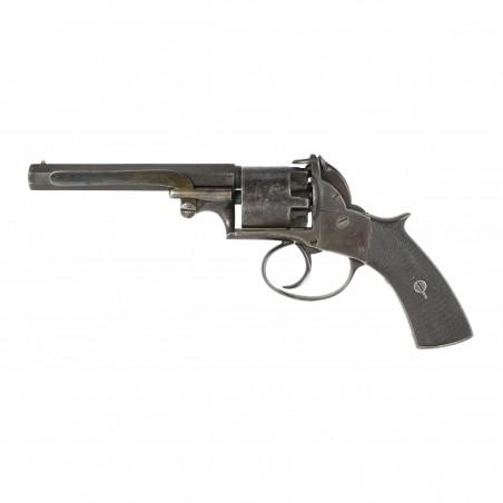 Unusual Manton, London Marked Adams Type Double Action Revolver (AH5773)
