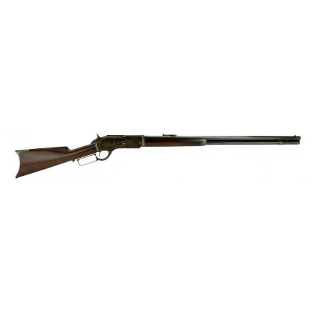 Winchester 1876 .45-75 caliber rifle.(W9595)