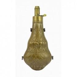 Antique Shotgun Flask with...