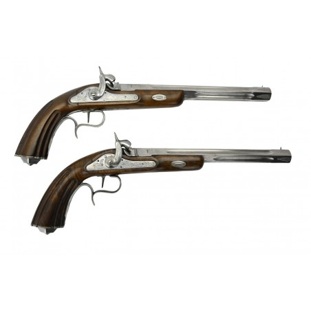 Replica Black Powder Dueling Pistols .44 Caliber (PR50608)