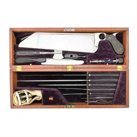 Civil War Field Surgeons Kit Made by Chas. Truax & Company Chicago Ill. (MM1354)
