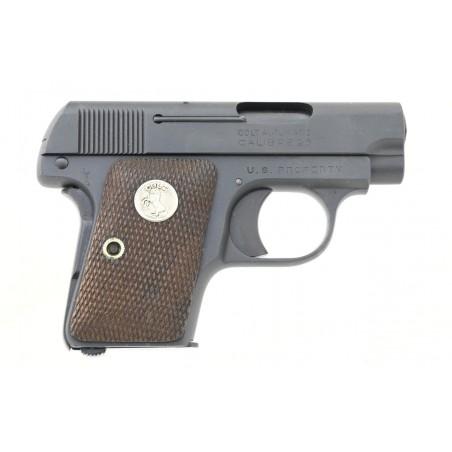 Very Rare Colt 1908 U.S. Marked .25 ACP (C16530)