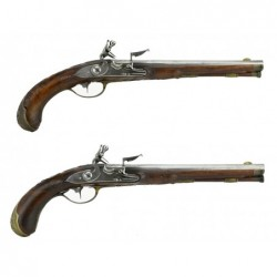 Pair of German Flintlock...