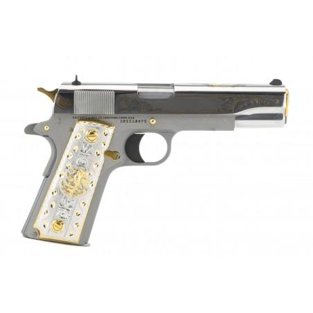 Colt Golden Stallion Engraved .38 Super (nC16639) New