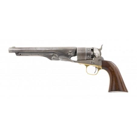 """Rare Colt 1860 Buffalo Soldier """"F10 Cav"""" Revolver (C10942)"""