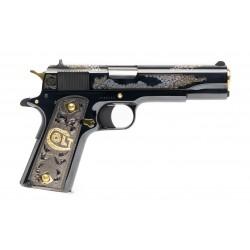 Colt Silver & Gold Engraved...